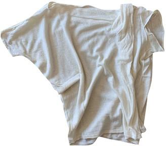 Non Signã© / Unsigned Manche ballon White Cashmere Knitwear