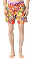 Moschino Pattern Mix Swim Trunks