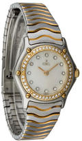 Ebel Diamond Classic Wave Watch