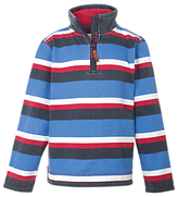 Fat Face Children's Jamie Striped Top, Blue