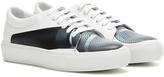 Acne Studios Adriana Mic Printed Leather Sneakers