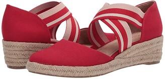LifeStride Keaton (Fire Red) Women's Shoes
