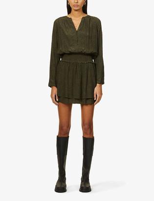Rails Jasmine rayon-blend mini dress