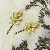 Nell Little Gold Leaf Hair Grips