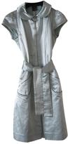 Louis Vuitton Silk mid-length dress
