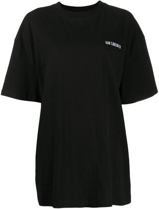 Han Kjobenhavn logo detail T-shirt