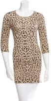 Tomas Maier Leopard Print Crew Neck Sweater