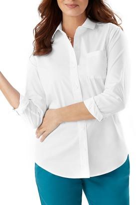 Tommy Bahama Flamingo Long Sleeve Button-Down Shirt