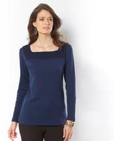 Anne Weyburn Square Neck T-Shirt
