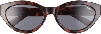 Quay Totally Buggin 49mm Cat Eye Sunglasses