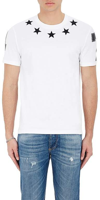 Givenchy Men's Star & Numbers Jersey T-Shirt