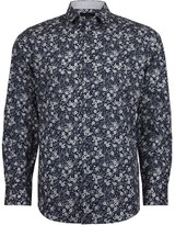 Jeff Banks Casual Bold Floral Slim Fit