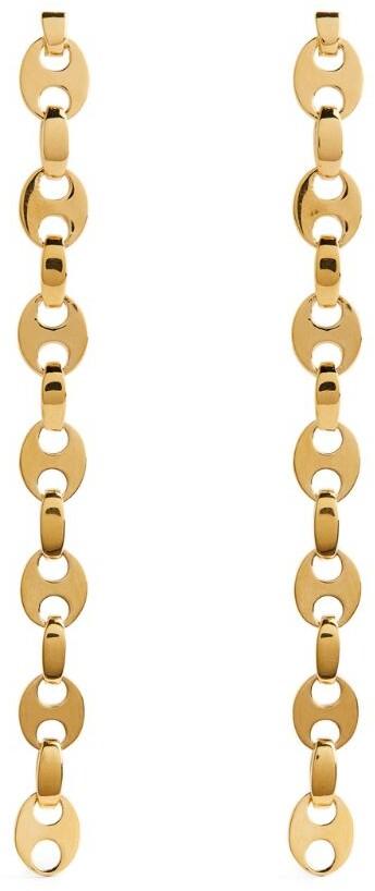 Paco Rabanne Nano Eight Drop Earrings