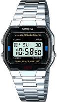 Casio A163wa-1qes stainless steel digital watch