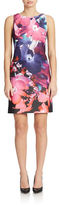 Vince Camuto Floral Print Shift Dress