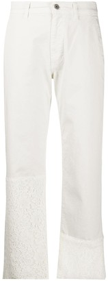 Mr & Mrs Italy Logo Straight Leg Trousers