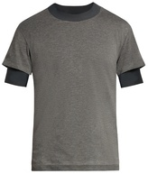 Satisfy The Long Distance layered T-shirt