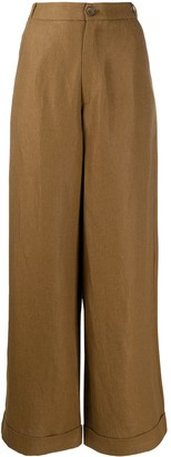 Societe Anonyme High Rise Wide Leg Trousers