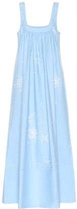 Stella McCartney Embroidered cotton dress