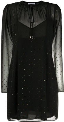 Patrizia Pepe Relaxed Fit Rhinestone Dress