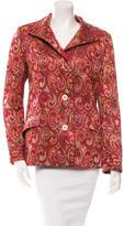 Missoni Jacquard Button-Up Jacket