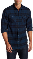 Burnside Plaid Regular Fit Flannel Shirt