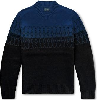 Club Monaco Wool-Blend Jacquard Sweater