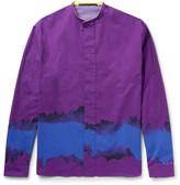 Haider Ackermann - Grandad-collar Printed Cotton Shirt