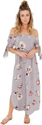 Plum Pretty Sugar Ties Maxi Dress