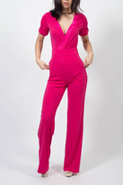MODChic Couture Electric Pink Jumpsuit