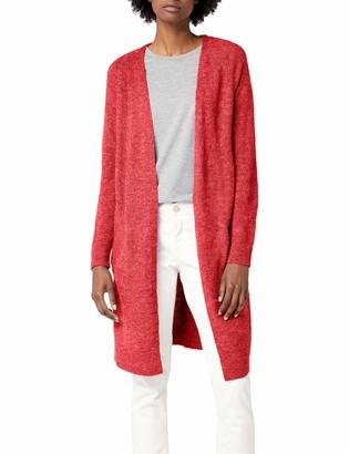 Pieces Women's Pcjane Ls Long Wool Cardigan Noos
