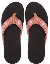 Reef Ortho-Bounce Woven (Dusty Coral) Women's Sandals