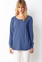 Forever 21 Contemporary Off-Duty Longline Sweatshirt