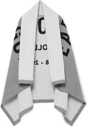 Fear Of God Logo-Appliqued Loopback Cotton-Jersey Blanket