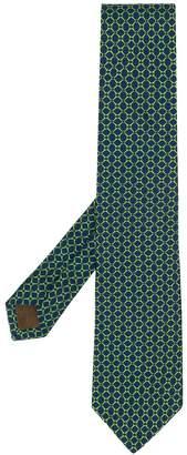 Church's diamond-link patterned tie