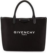 Givenchy Antigona Medium Fabric Shopper Bag, Black