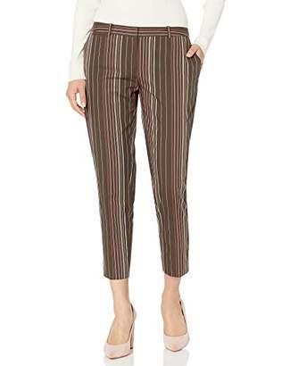 Tommy Hilfiger Women's Stripe Slim Leg Crop Pant