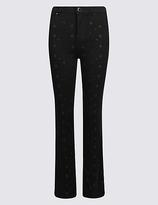 Per Una Bling Detail Roma Rise Slim Leg Jeans