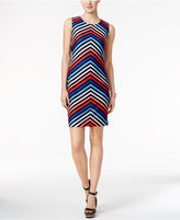 Tommy Hilfiger Chevron-Stripe Sheath Dress