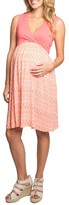 Everly Grey Women's Cleo Maternity/nursing Dress