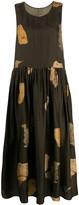 UMA WANG sleeveless flared dress
