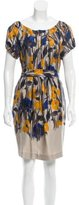 Nicole Farhi Printed Silk Dress