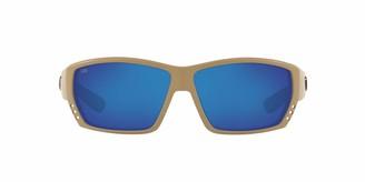 Costa del Mar Tuna Alley Sunglasses Tortoise Green Mirror 580G Lens