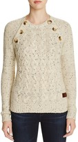 Vero Moda Elbow Patch Cabled Sweater