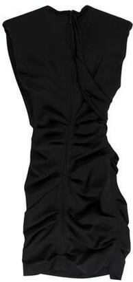 CARMEN MARCH Crew Neck Mini Dress w/ Tags Black