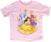 Disney Aurora Snow White Belle Tee Toddler Girls T Shirt Princess Pals Fashion Top
