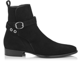 Jimmy Choo HOLDEN Black Ultra Soft Suede Boots