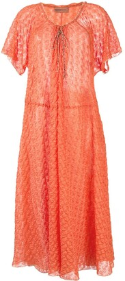 Missoni Knitted Midi Beach Dress