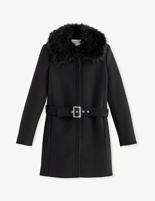 Claudie Pierlot Gilles wool and cashmere-blend coat