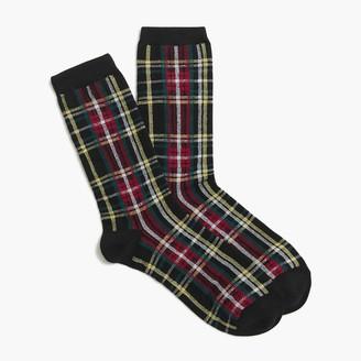 J.Crew Tartan trouser socks